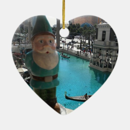 Gondola Gnome II Christmas Ornaments