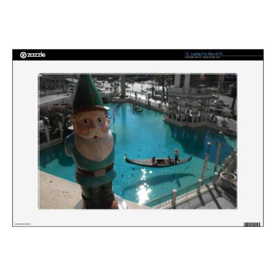 Gondola Gnome II Decals For Laptops