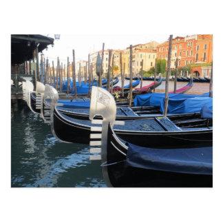 Gondola, gondolas! postcard