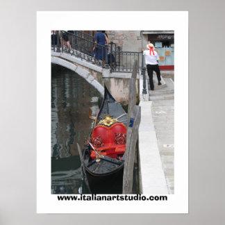Gondola gondolier POSTER