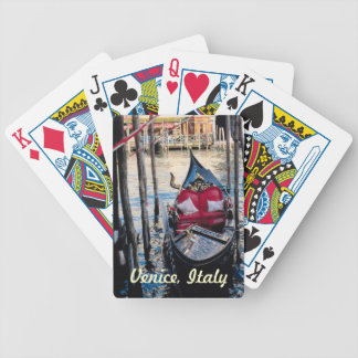Gondola in Venice Italy Bicycle Playing Cards