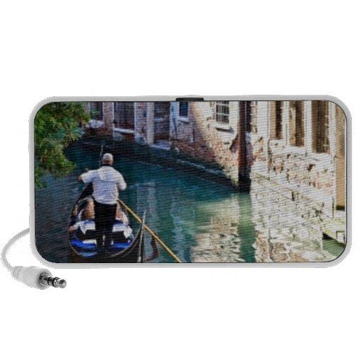 Gondola in Venice Italy Laptop Speakers