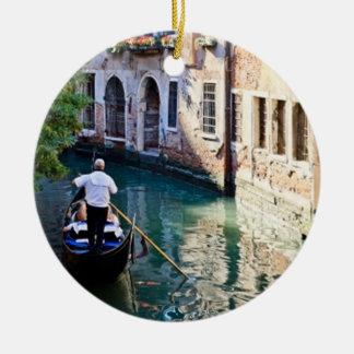 Gondola in Venice Italy Christmas Tree Ornaments