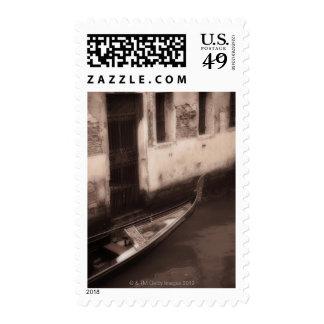 Gondola in Venice Italy Stamps