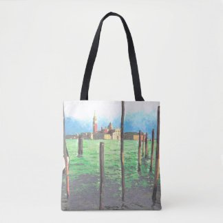 Gondola Moorings in Venice Tote Bag