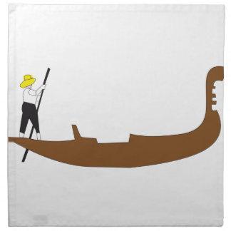 Gondola Napkin