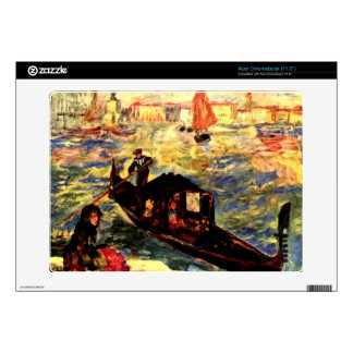 Gondola on the Canale Grande by Pierre Renoir Acer Chromebook Skin