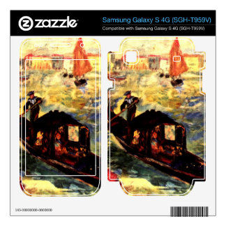 Gondola on the Canale Grande by Pierre Renoir Samsung Galaxy S 4G Skins