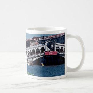 Gondola on the Grand Canal Rialto Bridge Venice Coffee Mug