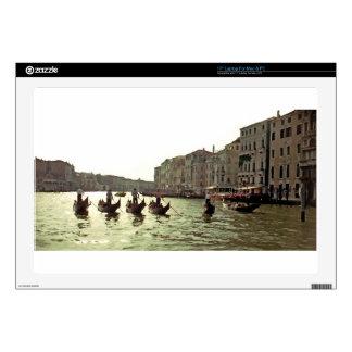 "Gondola Race Venice 17"" Laptop Decal"