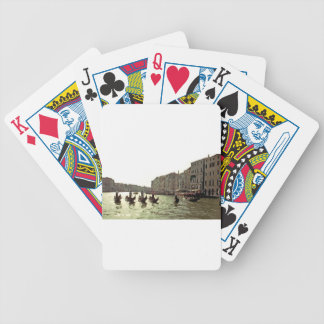 Gondola Race Venice Bicycle Playing Cards