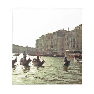 Gondola Race Venice Notepad