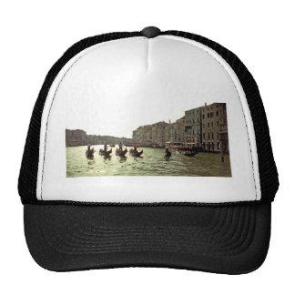Gondola Race Venice Trucker Hat