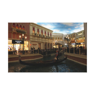 Gondola Ride at The Venetian Canvas