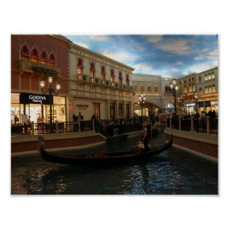 Gondola Ride at The Venetian Poster