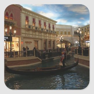 Gondola Ride at The Venetian Stickers