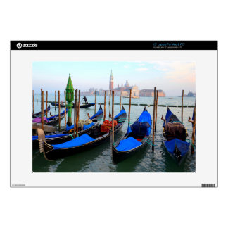 """Gondola Station Near Piazza San Marco Decal For 15"""" Laptop"""