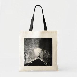 Gondola Under A Venice Bridge Canvas Bag