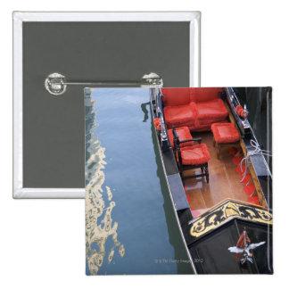 Gondola Venice Italy Button
