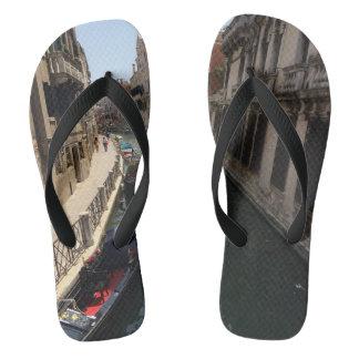 Gondola Venice Italy European Travel Souvenir Flip Flops