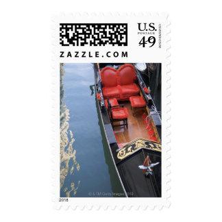Gondola Venice Italy Postage Stamps