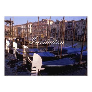 Gondolas 5x7 Paper Invitation Card