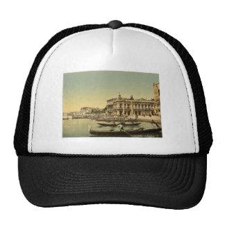 Gondolas and Piazzetta di San Marco, Venice, Italy Trucker Hat