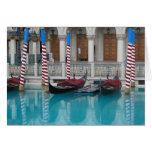 Gondola's at the Venetian, Las Vegas Cards