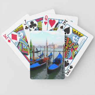 Gondolas Bicycle Playing Cards