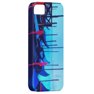 Góndolas de Venecia Funda Para iPhone 5 Barely There