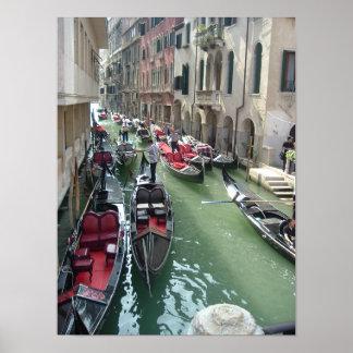 Góndolas de Venecia Italia Impresiones