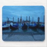 Góndolas de Venecia Italia Tapetes De Ratón