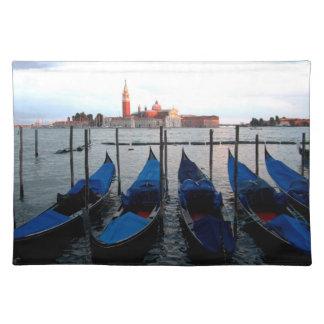Góndolas de Venecia Mantel