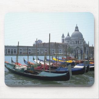 Góndolas en el Gran Canal, Venecia, Italia Tapetes De Raton