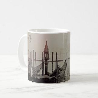 Gondolas in the fog, Venice, Italy Coffee Mug