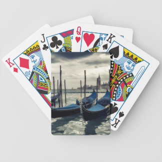 Gondolas in Venice Bicycle Playing Cards