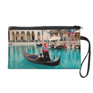 Gondolas Las Vegas Photo Bagettes Wristlet Bag