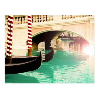Gondolas Las Vegas Postcard #1