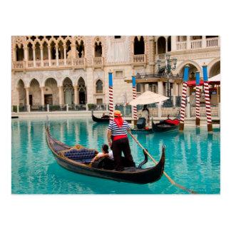 Gondolas Las Vegas Postcard #3
