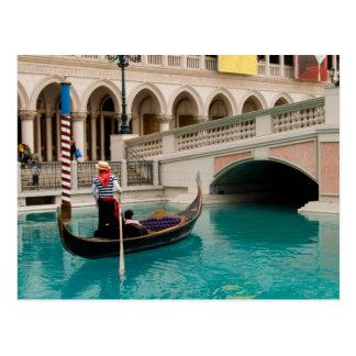 Gondolas Las Vegas Postcard #4