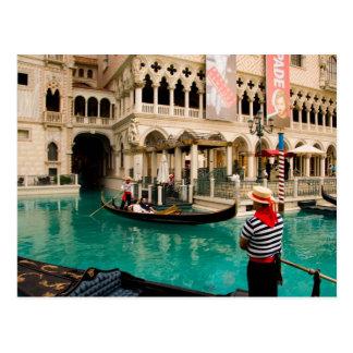 Gondolas Las Vegas Postcard #6
