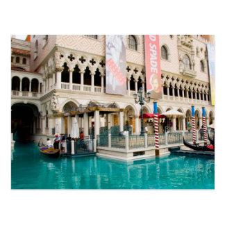 Gondolas Las Vegas Postcard #7