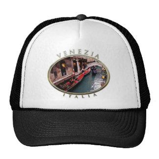 Gondolas On A Beautiful Venetian Canal Trucker Hat