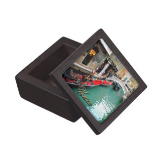 Gondolas on a Venetian canal Gift Box