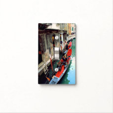 Gondolas on a Venetian canal Light Switch Cover