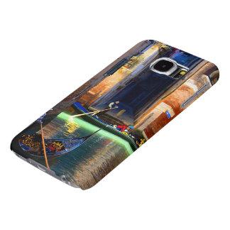 Gondolas on a Venetian Canal Samsung Galaxy S6 Case