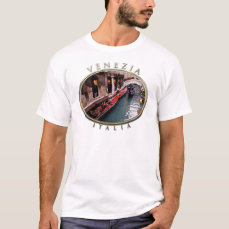 Gondolas on a Venetian Canal T-Shirt