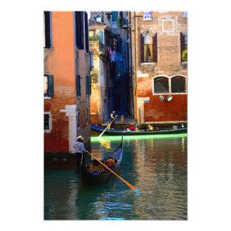 Gondolas Photo Print