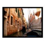 Gondolas Postcard