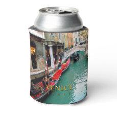 Gondolas- Venice, Italy Can Cooler